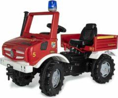 Rolly Toys Rollyunimog Fire - Traptractor - Unisex - Donkergroen;Geel