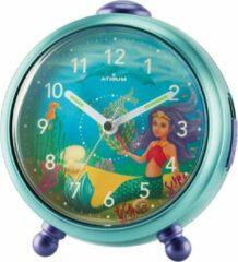 ATRIUM wekker Kinder Zeemeermin Turquoise - A932-13
