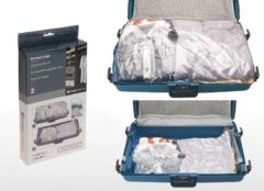 Transparante DSM Vacuümzakken, space bags 2-delige set Storage Solutions