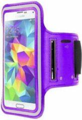 Qatrixx HTC One M8 sports armband case Paars Purple