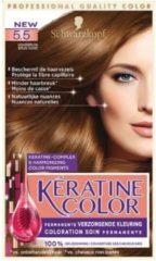 Keratine Color Kératine Color 5.5 Goudbruin - 1 stuk - Haarverf