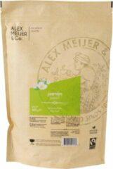 Groen Jasmijn Losse Thee Grote Zak 400 gram Alex Meijer Fair trade