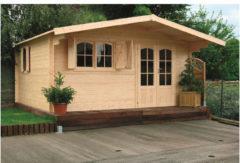Solid tuinhuis 'Chamonix III' hout 17,79 m²