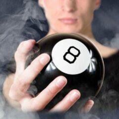 Zwarte Gadgets Magic 8 Ball