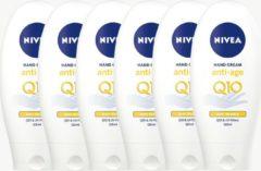 Nivea Hand Creme Anti-Age Care Q10 - 6 x 125ml - Voordeelverpakking