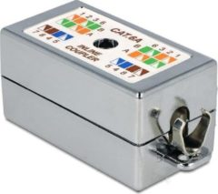 DeLOCK Junction Box for network cable Cat.6A LSA toolless (86243)