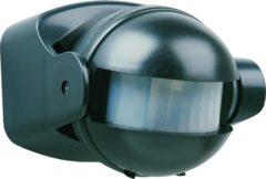Zwarte Smartwares ES34Z Bewegingsmelder - Voor binnen en buiten - Detectiebereik 12m. x 180° - Zwart