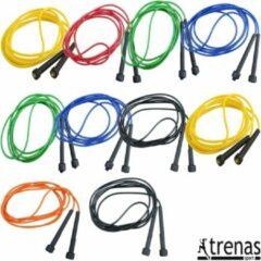 Trenas - Speedrope - Springtouw - 300 cm - set van 10 touwen - Kunststof - mix kleuren