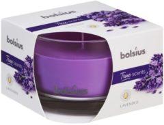 Bolsius Geurkaars True Scents Lavendel 9,2 Cm Glas/wax Paars
