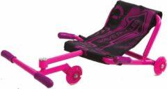 Roze-EzyRoller-Waveroller- Skelter- ezy roller- wave roller-ligfiets-kart-buitenspeelgoed