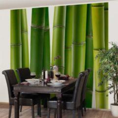 PPS. Imaging Bambus Tapete - Vliestapete - Blumentapete Bambuspflanzen Fototapete Bambus Quadrat