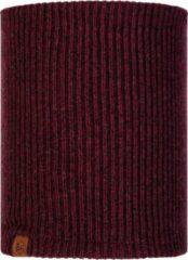 Bordeauxrode Buff Knitted & Polar Neckwarmer Lyne Maroon Bordeaux / Kastanjebruin