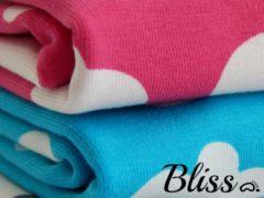 Bliss Babydeken - Wikkeldeken - Omslagdoek - Wiegdeken - Dekentje - Wolk Aquablauw