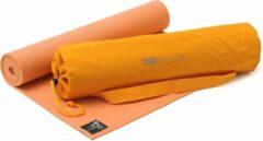 Yoga-Set Starter Edition (Yoga mat + yoga zak) mango Fitnessmat YOGISTAR
