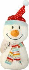 Witte Fashy Sneeuwpop Warmteknuffel