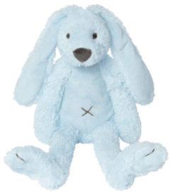 Lichtblauwe Happy Horse Konijn Richie Blauw Knuffel Groot - 58 cm