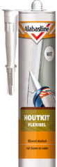 Alabastine Flexibele Houtvuller Wit Koker 300ML