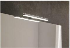Dekker Spiegel Boven en Onder Verlichting Lanesto Ambilight LED 30 cm Chroom