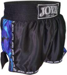 Joya Kickboks Sportbroek - Maat XS - Unisex - zwart/blauw/wit