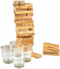JM Commerce Dronken toren - Drankspel - 18+ - Drinken