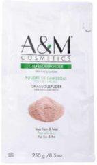 Bruine A&M cosmetics GHASSOUL POEDER/GHASSOULl/RHASSOUL POEDER,biologische haar&gezichtmasker 250gr