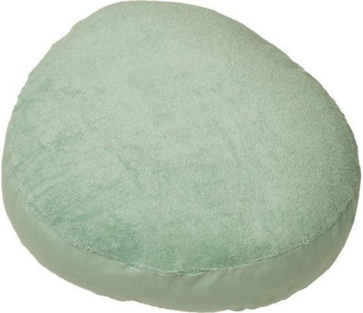 Afbeelding van Blauwe Form-Fix Voedingskussenhoes - Hoes voor Sit Fix XL - 100% katoen en comfortabel badstof - Mint