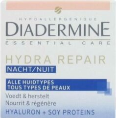 Diadermine Essential Care Hydra Repair Nachtcreme 50 ml - 1 stuk