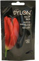 DYLON Textielverf Tulip Red - Handwas - 50 gr - Geschikt Voor Kleding