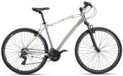 Montana Bike 28 ZOLL MONTANA X-CROSS MOUNTAINBIKE ALUMINIUM 21 GANG MTB Hardtail Herren grau