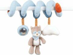 Blauwe Nattou Wasbeer Bob - Baby Spiraal