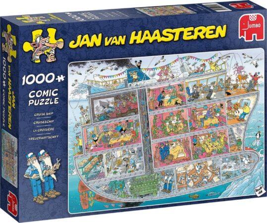 Afbeelding van Jumbo legpuzzel Jan van Haasteren Cruise Ship 1000 stukjes
