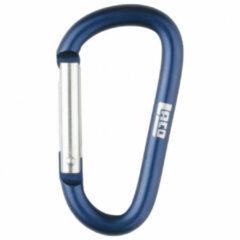 LACD - Accessory Biner - Materiaalkarabiner maat 65 mm, blauw/grijs