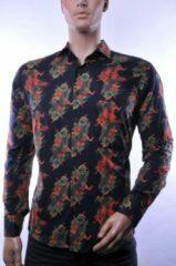Oranje Corrino lange mouw overhemd blouse heren / volwassenen