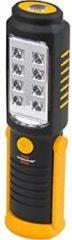 BRENNENSTUHL 8+1 SMD LED-Universal-Handleuchte HL DB 81 M1H1 25 0lm + zusätzlich 100lm als Spot, mit Haken, Überro