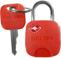 Accessoires Vorhängeschloss TSA I Delsey rot