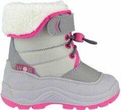 Wintergrip Winter-grip Snowboots Jr - Hoppin' Bieber - Lichtgrijs/Grijs/Roze - 35