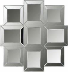 Zilveren Richmond Interiors Richmond Spiegel 'Xeon' 105 x 100cm