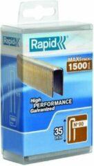 Rapid 5000126 Nieten - No. 90 - Gegalvaniseerd - 35mm (1500st)