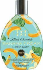 BROWN SUGAR BLACK CHOCOLATE BANANA CREAM zonnebankcreme 400 Bronzers - 400 ml