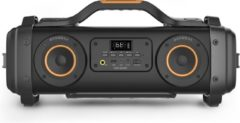 Oranje Caliber Portable Bluetooth Speaker - Extra Bass - Zwart (Hbb460bt)