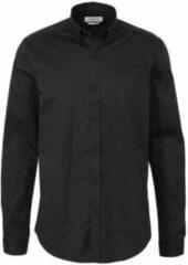 Purewhite slim fit overhemd zwart