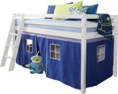 REKE Tent bijbehorend voor halfhoogslaper Eveline - blauw - 154x73x63 cm