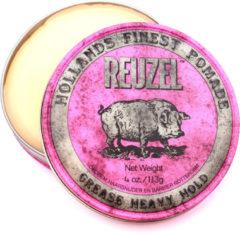 Reuzel - Grease Heavy Hold (Reuzel Pink) - 113 gr