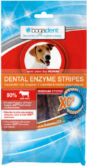 Bogadent Dental Kauwchips Enzym-Stripes - Gebitsverzorging - 100 g Medium