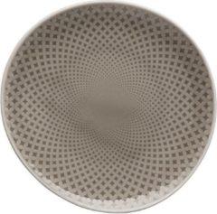 Grijze ROSENTHAL - Junto Pearl Grey - Gebakbordje 16cm