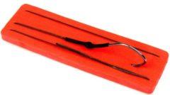 Zwarte X2 Meerval Enkele Onderlijn - Haakmaat 10/0 - Onderlijn