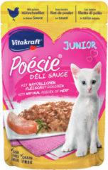 Vitakraft Poesie Multipack Deli Sauce Vlees Pouch 6x85 g - Kattenvoer - Kip&Kalkoen