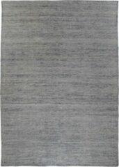 Hioshop Utryr vloerkleed handgeweven 200x300 cm, laagpolig grafiet grijs.