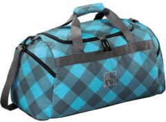 All Out Sporttasche Westend Blue Dream Check All Out blue dream check