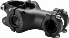 Zwarte Humpert Swell 2 Stem Ø25,4mm Adjustable, black Lengte 80mm